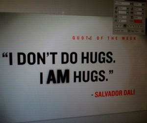 quote, drugs, and hug image