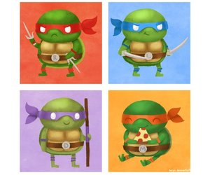 cartoon and tartarugas ninjas image