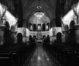 b&w, cathedral, and blakc and white image