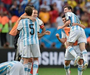 argentina, worldcup14, and football image