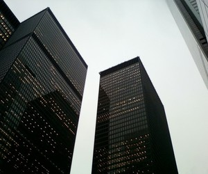 black, building, and city image