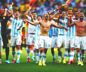 argentina, football, and mundial image