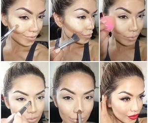makeup, make up, and tutorial image