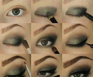 beauty, diy, and eye makeup image