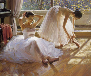 Estudio, garotas, and ballet classic image