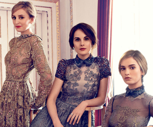 dress, fashion, and downton abbey image