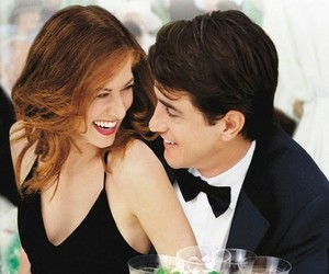 film, movie, and the wedding date image