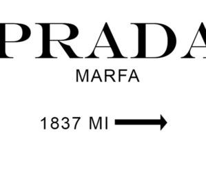 Prada, marfa, and gossip girl image