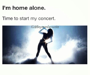 alone, concert, and funny image