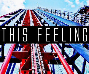 feeling, Roller Coaster, and fun image