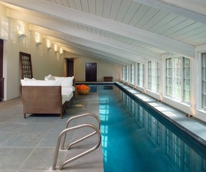 swimming pool, hotel & resort, and modern style image