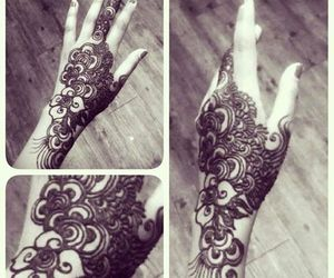 henna, tattoo, and indian image