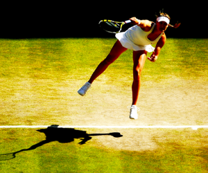 grass, wimbledon, and bouchard image