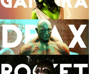 Marvel, groot, and drax image
