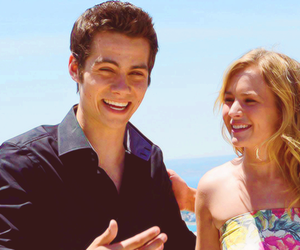 dylan o'brien, britt robertson, and love image