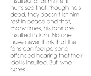 care, michael jackson, and offended image