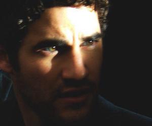 curly, darren criss, and dark image