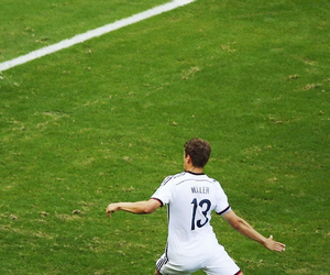 germany, football, and thomas muller image