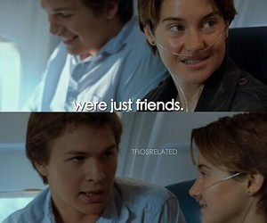 just friends, tfios, and story image