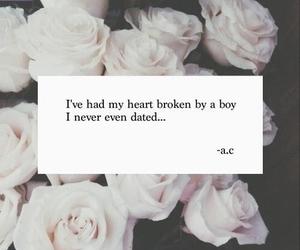 boy, broken, and girl image