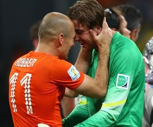 netherlands, world cup, and robben image