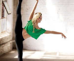dance, ballet, and fitness image