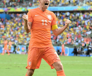 world cup, netherlands, and robben image