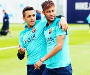 neymar, Barca, and sanchez image