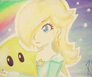 luma, space, and rosalina image
