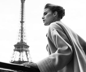 paris, black, and fashion image