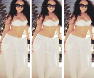 white and little mix image