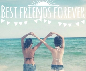 best friends, forever, and summer image