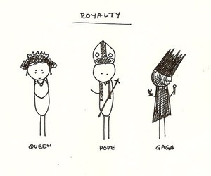 Lady gaga, Queen, and royalty image