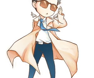supernatural, castiel, and swag image