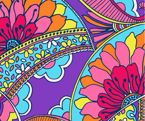 wallpaper, flowers, and colorful image