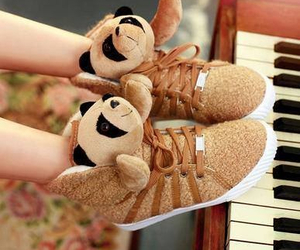 bear, cool, and shoes image