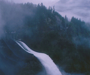 nature, photography, and waterfall image
