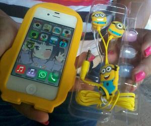 amarillo, ilove, and minion image
