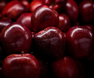 fruit, apple, and cherry image