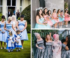 alice in wonderland party, wedding dresses uk, and bridesmaid dresses uk image
