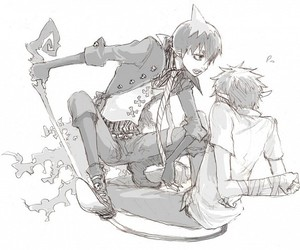 anime, yaoi, and ao no exorcist image