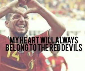 belgium, heart, and red devils image