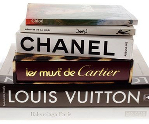 book, chanel, and Louis Vuitton image