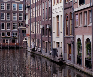 amsterdam, holland, and travel image