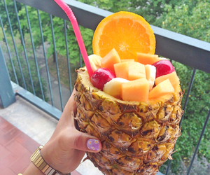 ananas, relax, and estate image