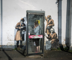 BANKSY and street art image
