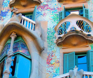 Barcelona, architecture, and Gaudi image