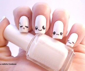 nails, nail art, and kawaii image
