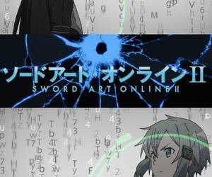 anime, sao, and kirito image