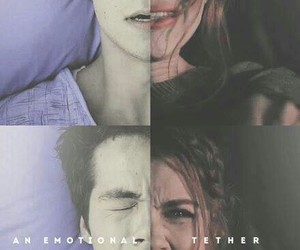 lydia, stiles stilinski, and teen wolf image